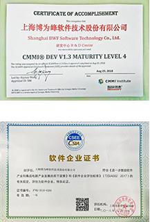 CMMI-4认证